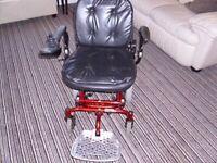 Vienna Electric Mobility Wheelchair. needs joystick
