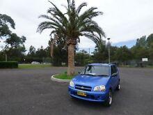 2004 Suzuki Ignis RG413 GL Blue 4 Speed Automatic Hatchback Cabramatta Fairfield Area Preview