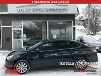 2013 Nissan Sentra S automatic blue tooth 4 door 111,000 k $9600 Winnipeg Manitoba Preview