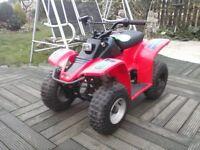 50 cc 4 stroke quad 4 speed semi auto