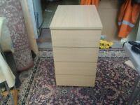 4 drawer office unit
