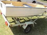 aluminium tinny 3000x1300 10 foot tender boat trailer still avail Milperra Bankstown Area Preview