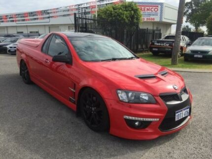 2010 Holden Special Vehicles Maloo E2 Series GXP Red Hot 6 Speed Manual Utility Maddington Gosnells Area Preview