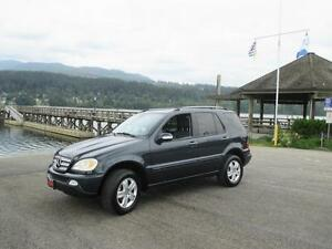 2005 Mercedes-Benz M-Class 3.7L ML350 Special Edition