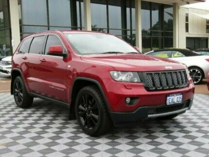 2012 Jeep Grand Cherokee WK MY2012 JET Cherry 5 Speed Sports Automatic Wagon