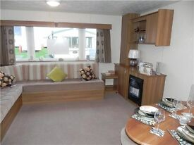 STATIC CARAVAN FOR SALE DOUBLE GLAZED GAS CENTRALLY HEATED ON NORTH EAST COAST NR WHITLEY BAY
