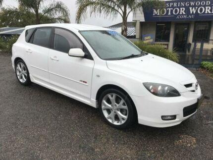 2007 Mazda 3 SP23 White 6 SPEED MANUAL Hatchback