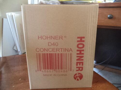 Hohner D40 Concertina