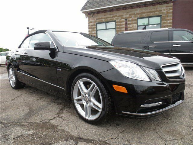 Convertible obsidian black metallic carfax one owner for Used mercedes benz convertible for sale by owner