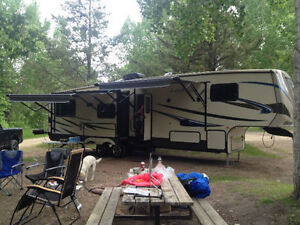 Sunset Trail 36' fifth wheel trailer for sale $44,995 OBO