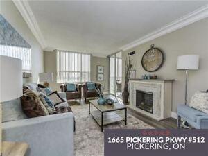 2 Bed Plus Den Condo Apt For Sale | Pickering Parkway Pkwy