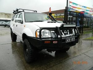 2011 Nissan Navara D22 ST-R White 5 Speed Manual Dual Cab Williamstown North Hobsons Bay Area Preview