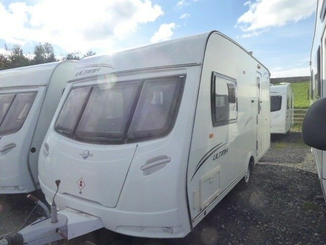 lunar Ultima 462 15ft 2 berth end bathroom,light weight tourer ,motor mover