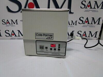 Cole-parmer Ss Ultrasonic Cleaner Heaterdigital Timer 1 Gallon Mdl 08895-16