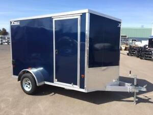 NEW 2018 XPRESS 6' x 10' ALUMINUM ENCLOSED TRAILER