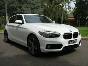 2015 BMW 120i F20 LCI Sport Line Alpine White 8 Speed Automatic Hatchback North Melbourne Melbourne City Preview