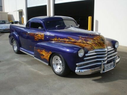 1947 Chevrolet Stylemaster Purple 3 Speed Automatic Utility Brompton Charles Sturt Area Preview