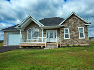 Beautiful energy efficient custom built bungalow