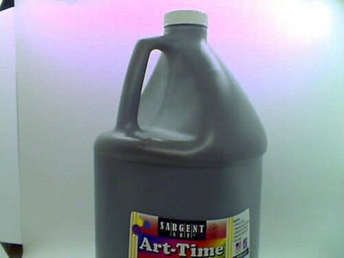 Sargent Art Brown Art-Time Washable Tempera Paint, 1 Gallon 17-3688 BRAND NEW