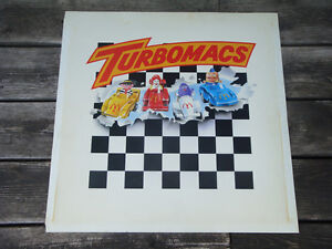 Turbomacs Toy Display Sign