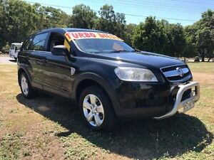 2009 Holden Captiva CG MY09 CX (4x4) Black 5 Speed Automatic Wagon Clontarf Redcliffe Area Preview