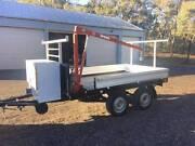 Tandem trailer flat deck ( Tipper, unfinished project*) Bendigo Bendigo City Preview