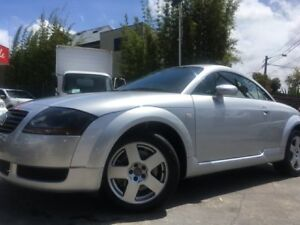 2000 Audi TT MY99 Silver 5 Speed Manual Coupe Sylvania Sutherland Area Preview