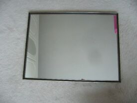 hanging wall mirror 18 x 24 inches 46cm x 61cm -