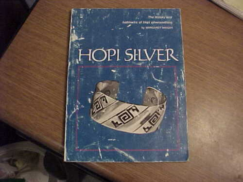 Great book! Hopi Silver by Margaret Wright-History & Hallmarks Hopi Silversmiths