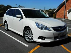 2011 Subaru Liberty B5 MY11 2.5i Lineartronic AWD White 6 Speed Constant Variable Wagon Chermside Brisbane North East Preview