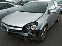 2007 VAUXHALL ASTRA SRI 1.7 CDTI DIESEL 3 DOOR DAMAGE SALVAGE REPAIRABLE CAT C SILVER CHEAP BARGAIN