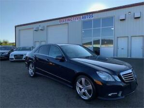 2011 Mercedes-Benz E-Class E350 4Matic LEATHER/B.CAM/BLIND SPOT