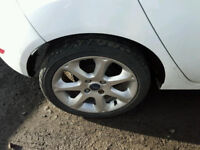 ford fiesta 2014 alloys set with tyres