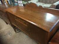 SOLID WOOD SIDEBOARD; EXCELLENT CONDITION