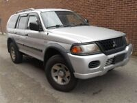 PRICE REDUCED: 2003 Mitsubishi Montero Sport SUV, Priced to sell
