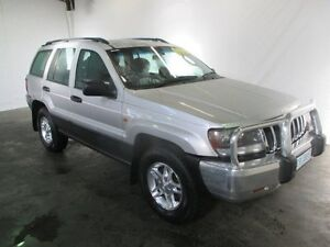 2003 Jeep Grand Cherokee WG Laredo (4x4) Bright Silver 5 Speed Automatic Wagon Invermay Launceston Area Preview