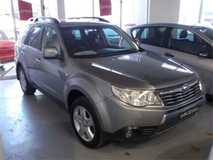 2010 Subaru Forester MY10 X Silver 5 Speed Manual Wagon Fyshwick South Canberra Preview