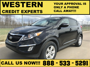 2015 Kia Sportage ~ Lo Km ~ MInt Condition ~ $0 Down / Pmnt $134