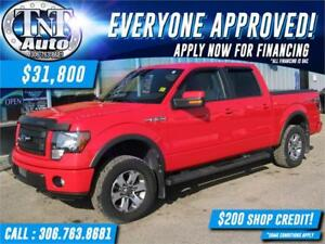 2013 Ford F-150 FX4 SuperCrew 5.5-ft. Bed 4WD BACK UP CAM-LOW KM