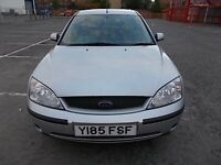 FORD MONDEO 1.8 LX 5 DOOR HATCHBACK Y REG (ONE LADY OWNER) MOT MARCH 2017