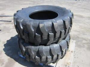 New Backhoe Tires in stock at Bryan's