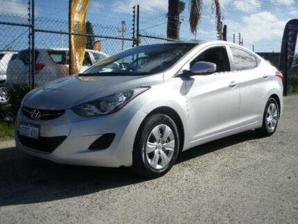 2012 Hyundai Elantra MD Active Silver 6 Speed Automatic Sedan Wangara Wanneroo Area Preview
