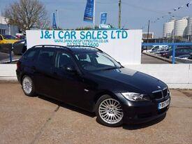 BMW 3 SERIES 2.0 320I SE TOURING 5d AUTO 169 BHP A GREAT EXAMPL (black) 2007