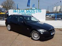 BMW 3 SERIES 2.0 320I SE TOURING 5d AUTO 169 BHP A GREAT EXAMPL (black) 2007