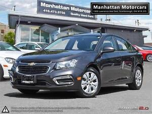 2015 CHEVROLET CRUZE LT AUTO |BLUETOOTH|CAMERA|WARRANTY|34000KM
