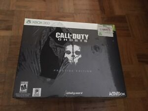 Call of Duty Ghosts Prestige Edition - PS3 or Xbox 360