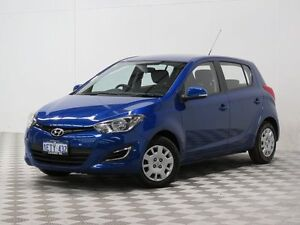 2015 Hyundai i20 PB MY14 Active Blue 6 Speed Manual Hatchback Morley Bayswater Area Preview
