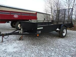 5x10 utility trailer with ramp
