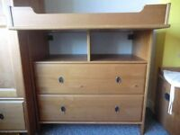 CHEST OF DROWERS/Storage combination with shelf 2PCS