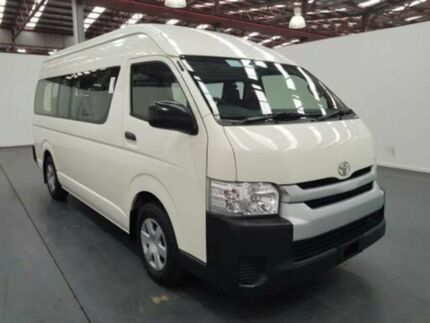 2014 Toyota Hiace KDH223R MY14 Commuter White 4 Speed Automatic Bus